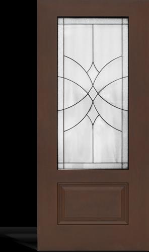 Glazed Textured Doors